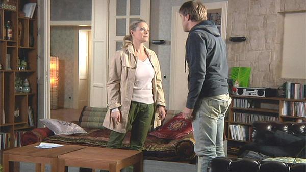 Sonja setzt Paul vor die Tür!