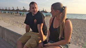 Zwei Männer, die für ihren Traum nach Mallorca auswandern