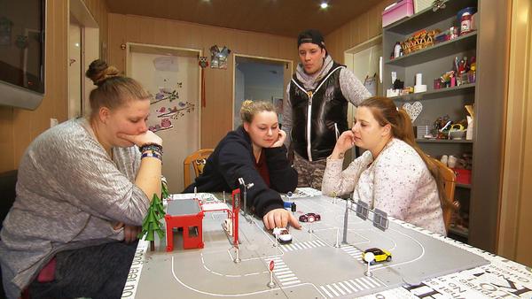 3 Wollny-Mädels im Führerscheinfieber!