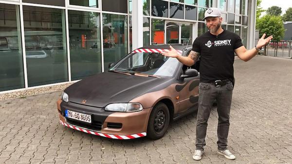 Horrortuning: Die verbastelte Honda-Ratte