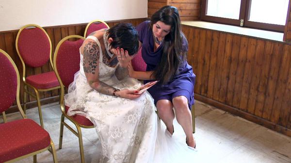 Hochzeit hinter Gittern eskaliert