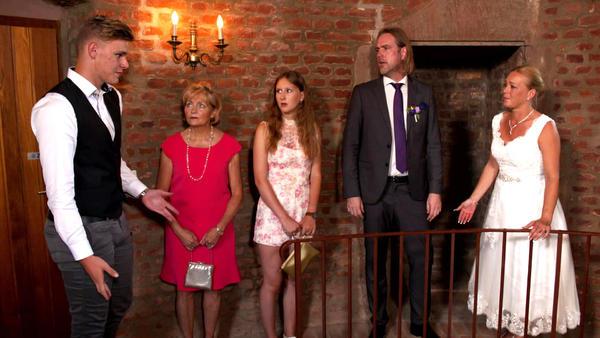 Streit in Patchwork Familie eskaliert bei der Hochzeit