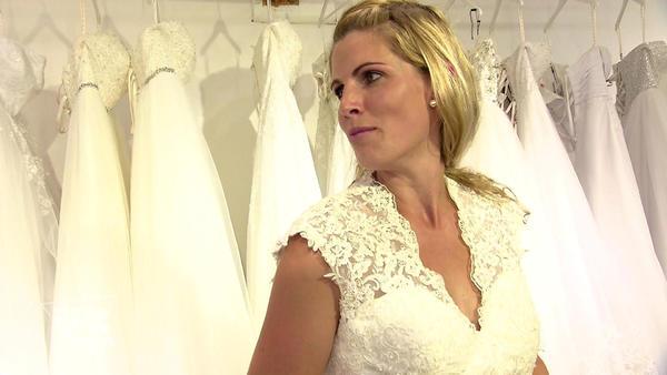 Hochzeitskleid auf den letzten Drücker
