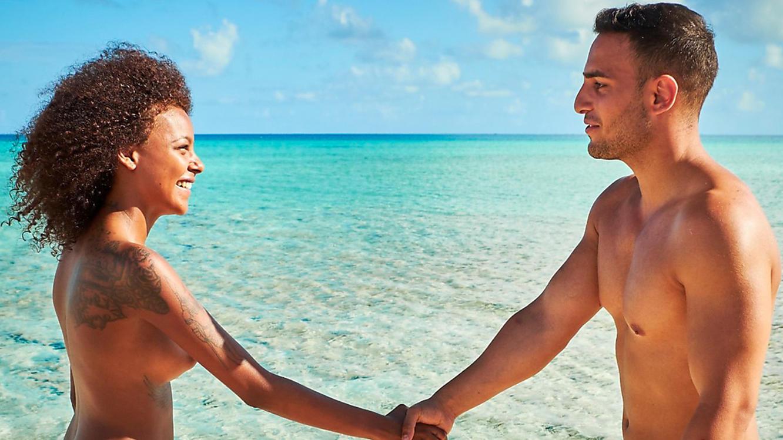 Insel Adam Sucht Eva