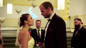 Braut sagt nein vor dem Altar