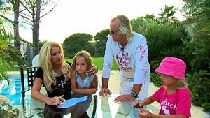 Eine Millionärsfamilie macht Urlaub