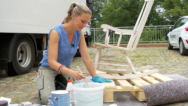 Mandys denkmalgeschützte Haus muss renoviert werden.