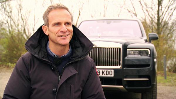 Matthias Malmedie im neuen Rolls-Royce Cullinan