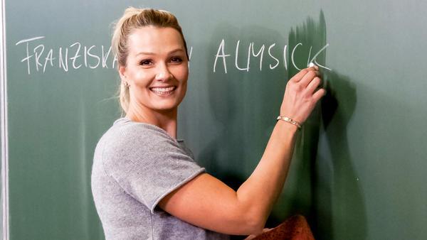 Die Vertretungslehrerin - mit Franziska van Almsick