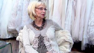 Das Silberhochzeits-Kleid