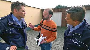Anwohner filmt Gewaltverbrechen mit Drohne