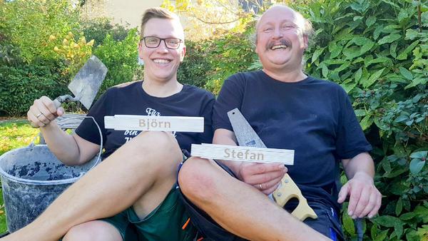 Heute u.a. mit: Stefan & Björn - Außen-Badewanne