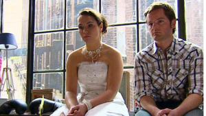 Annette und Ingo ihre Hochzeit durchziehen