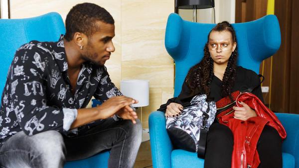 Michelle hat Angst, in der Eisshow ersetzt zu werden