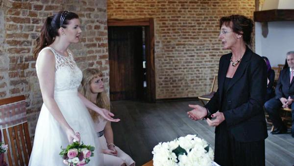 Brautmutter erhebt bei Trauung Einspruch