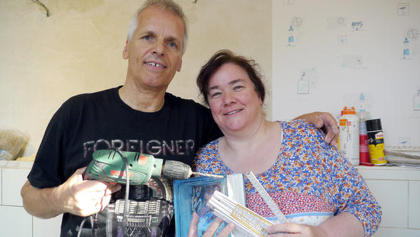 Heute u.a. mit: Steffani & Bernd - Badezimmer