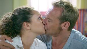 Überraschender Kuss