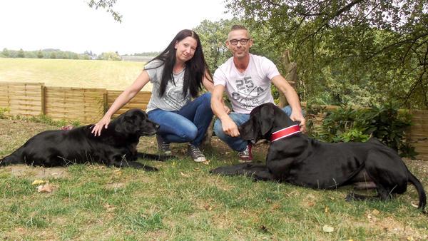 Heute u.a. mit: Julia & Matthias mit der Deutschen Dogge Luke