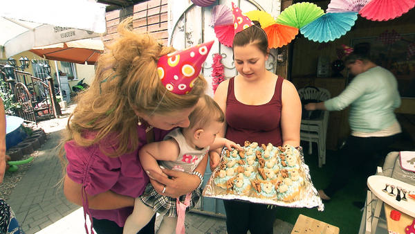 Celinas 1. Geburtstag