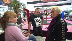 Härtetest mit einem Kickbox-Europameister
