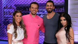 Mit Mustafa Alin, Sarah Lombardi und Kader Loth