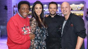 Mit Roberto Blanco, Detlef Steves und Verona Pooth