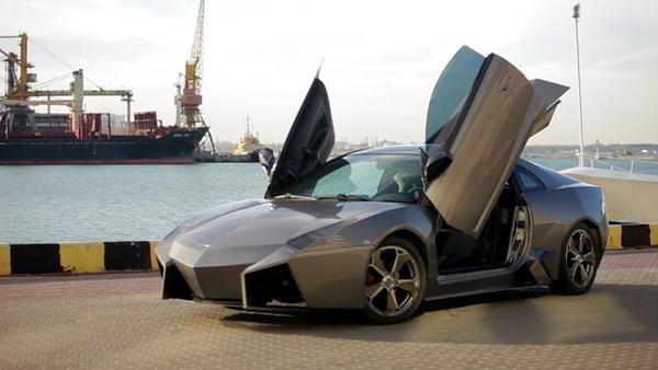 Thema u.a.: Nachgebauter Lamborghini