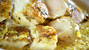 Senf-Hühnchen