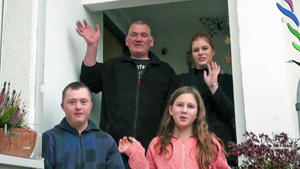 Eine Familie in Not