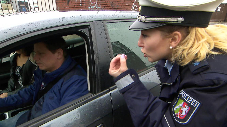Polizeischülerin