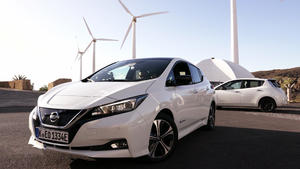 Thema u.a.: Fahrbericht: Nissan Leaf