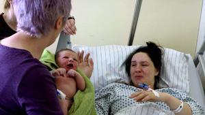 Eine schwierige Geburt