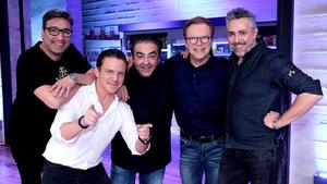 Mit Roland Trettl, Stefan Mross, Mousse T., Wolfgang Lippert