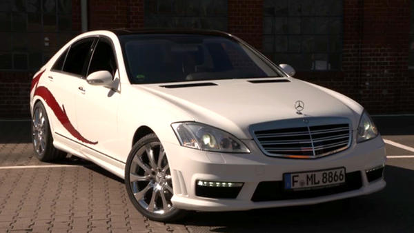 Thema u.a.: Tuning-Profis: Mercedes S-Klasse Teil 3