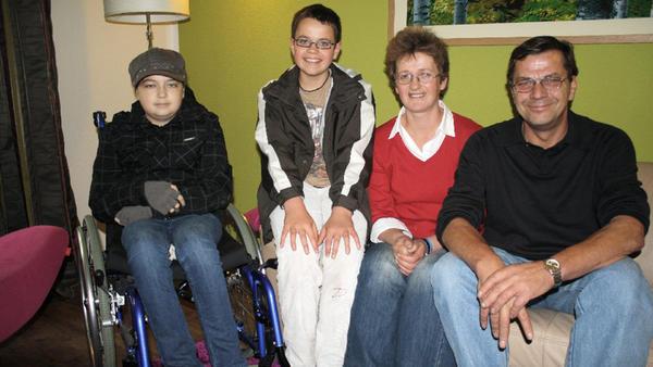 Familie Scharfenberg aus Merkers