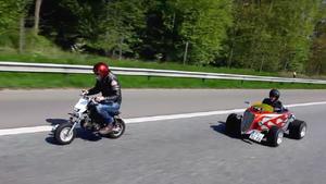 Der neue 6er BMW Gran Coupé - Mini HotRod vs. Monkey - Det sucht Urlaubsbus