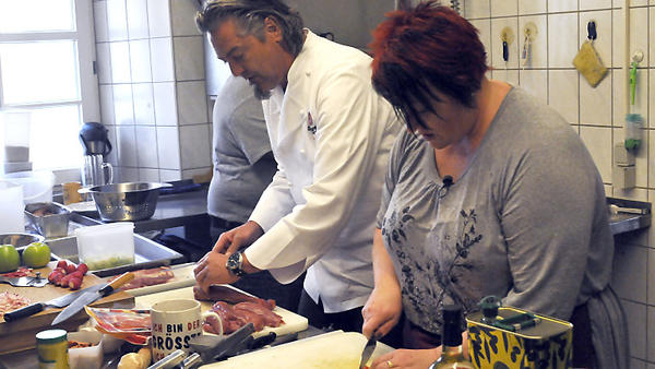 Die Kochprofis im Gasthof zum Stift in Medlingen