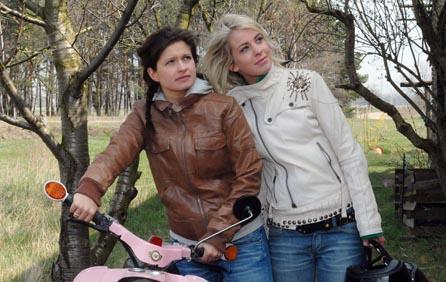 Paula und Franzi werden Freunde