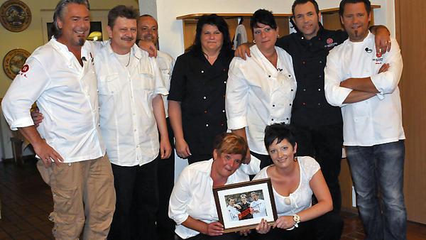 Die Kochprofis im Schützenheim Diana