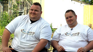 Die Mäckel-Brüder: Nach zehn Monaten auf der Zielgeraden